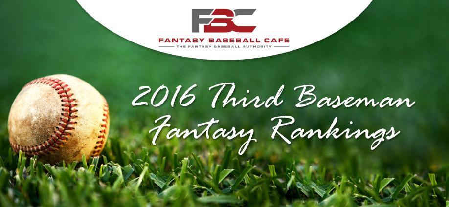 2016-Third-Baseman-Fantasy-Rankings